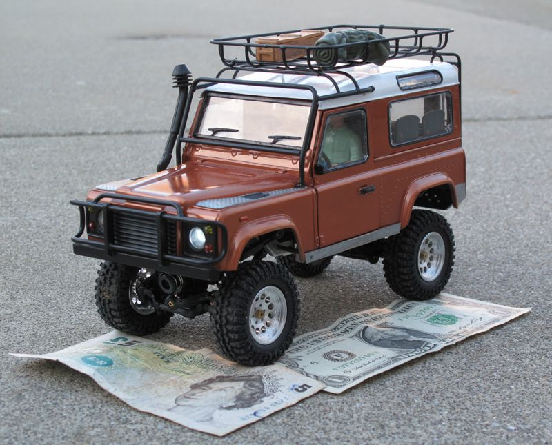 micro scale land rover defender 90 rc groups. Black Bedroom Furniture Sets. Home Design Ideas