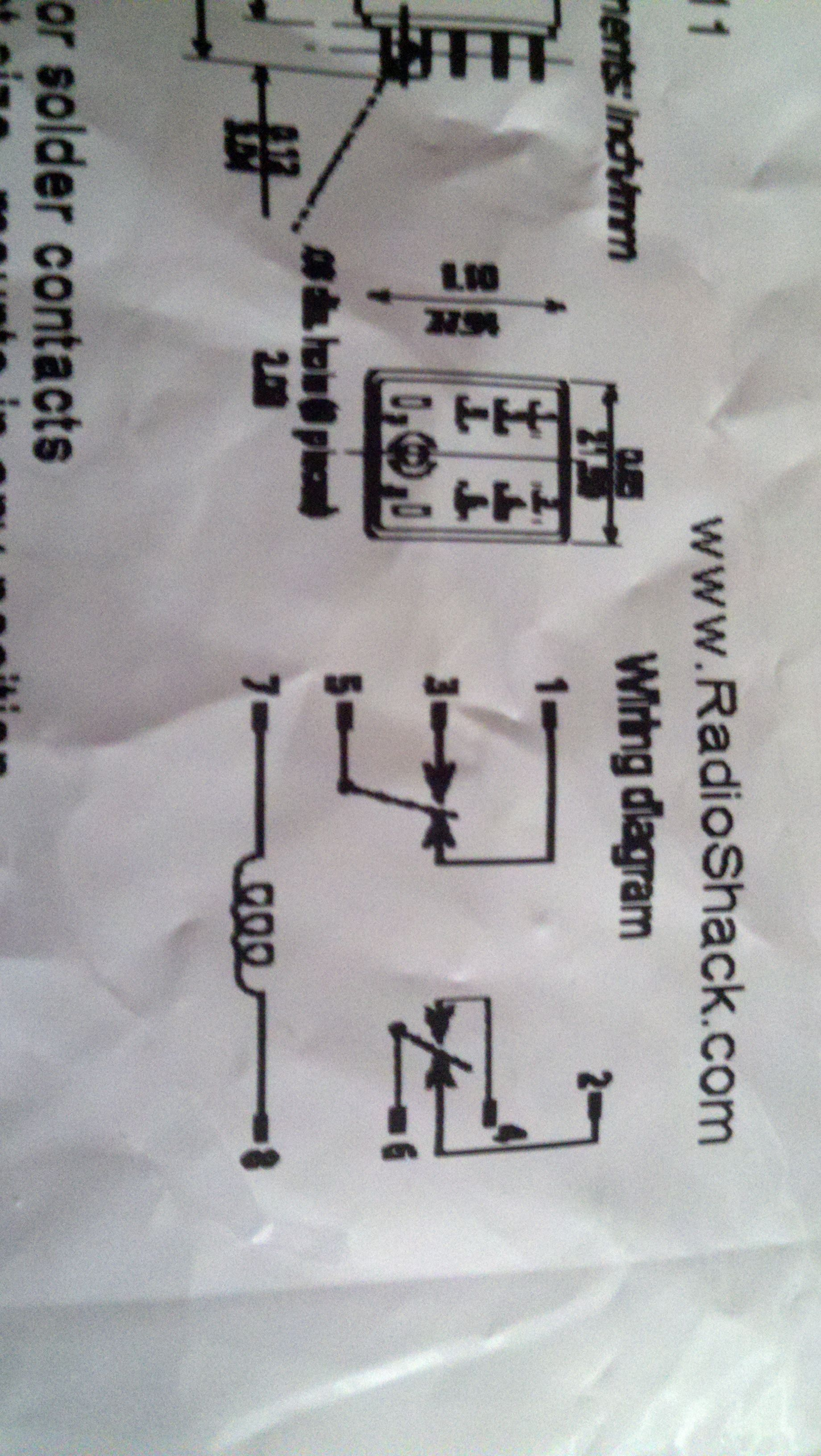 Relay Wiring Diagram For Drl